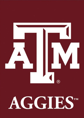 NCAA Texas A&M Aggies 2-Sided Garden Flag Flag
