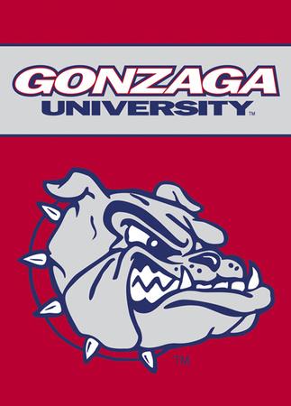 NCAA Gonzaga Bulldogs 2-Sided Garden Flag Flag!
