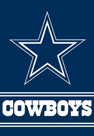 NFL Dallas Cowboys 2-Sided House Banner Bandera