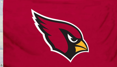 NFL Arizona Cardinals Flag with Grommets Bandera