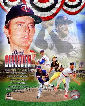 MLB Bert Blyleven Legends Composite Photo