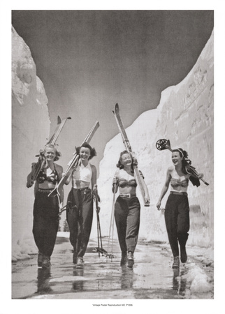 Girls Gone Skiing Arte