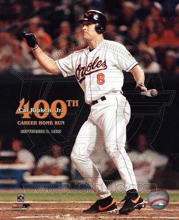 Cal Ripken, Jr. – 400th Career Home Run Photo