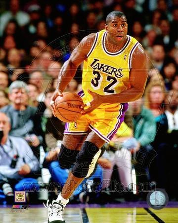 Magic Johnson 1995-96 Action Photo