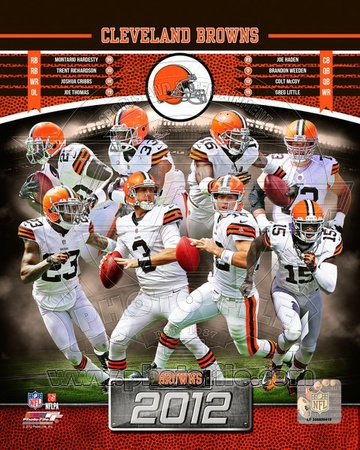 Cleveland Browns 2012 Team Composite Photo