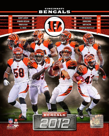 NFL Cincinnati Bengals 2012 Team Composite Photo