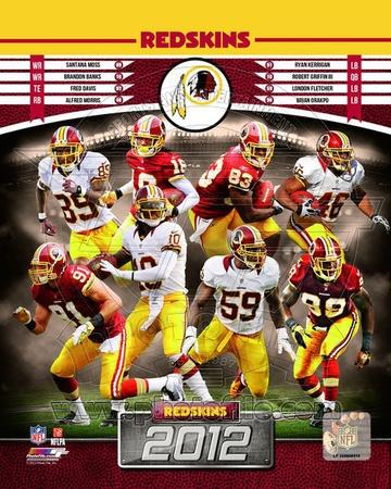 Washington Redskins 2012 Team Composite Photo!