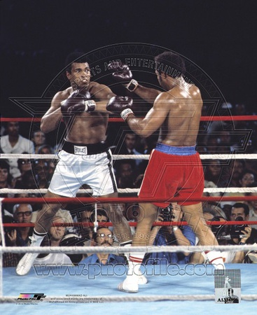 George Foreman versus Muhammad Ali in Zaire Africa 1974