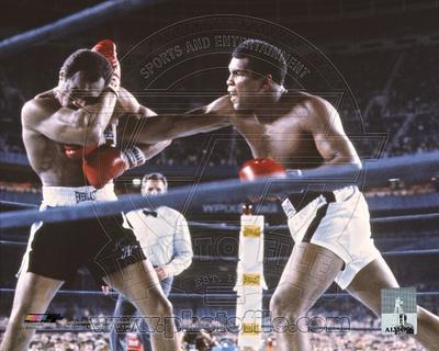 Muhammad Ali versus Ken Norton Yankee Stadium 1976 boxing photo poster print