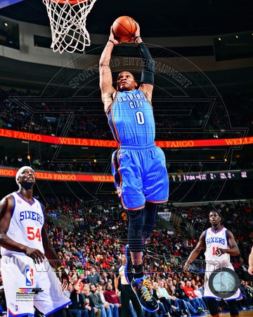 Russell Westbrook 2012-13 Action Photo