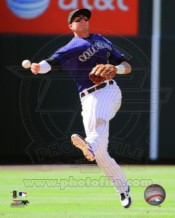 Troy Tulowitzki 2012 Action Photo