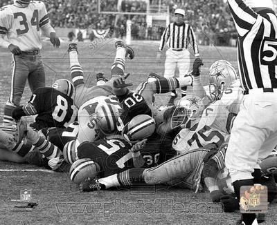 NFL Bart Starr 1967 Ice Bowl Touchdown Photo