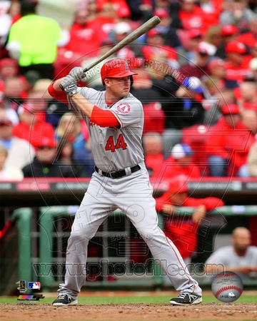 Mark Trumbo 2013 Action Photo
