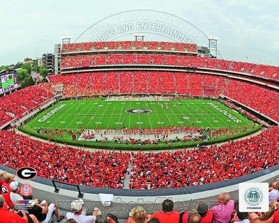 Sanford Stadium Univserity of Georgia Bulldogs 2012 Photo