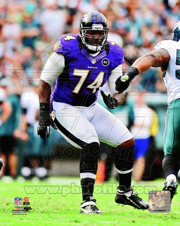 Michael Oher 2012 Action Photo