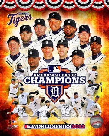 Detroit Tigers 2012 American League Champions Composite Photo