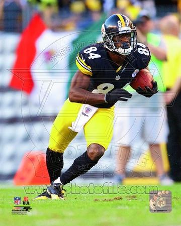NFL Antonio Brown 2012 Action Photo