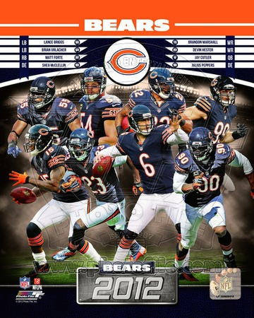 Chicago Bears 2012 Team Composite Photo