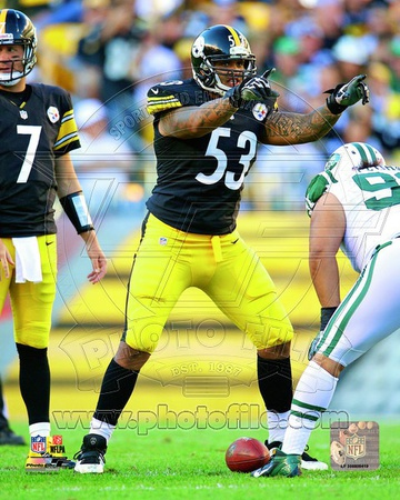 Maurkice Pouncey 2012 Action Photo