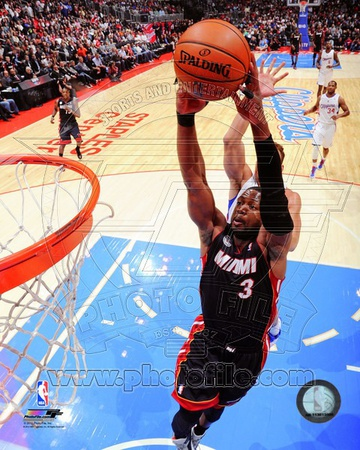 Dwyane Wade 2012-13 Action Photo