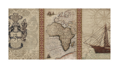 Voyage to Discovery I Giclee Print by  Amori