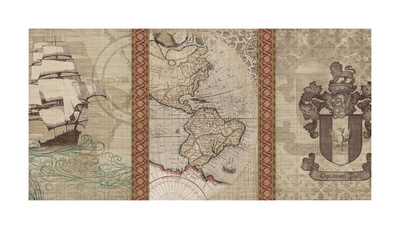 Voyage to Discovery II Giclee Print by  Amori