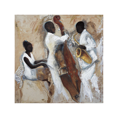 Night of Blues Giclee Print by Tat Vila
