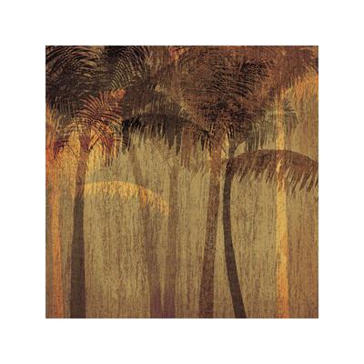 Sunset Palms I Giclee Print by  Amori