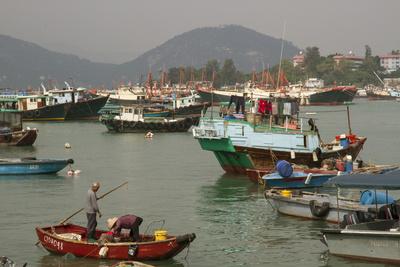 Harbour, Cheung Chau Island, Hong Kong, China, Asia Photographic Print by Rolf Richardson