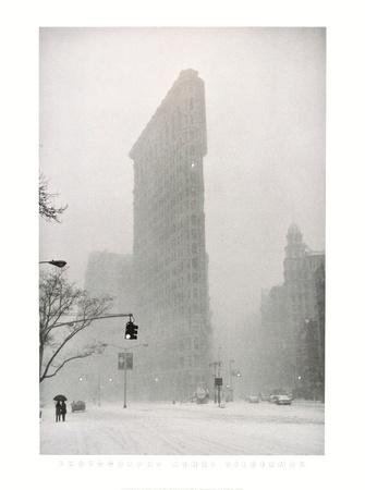 Flatiron Buzzard - New York Poster by Henri Silberman
