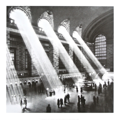 Grand Central Station , New York , 1934 Print by Hal Morey