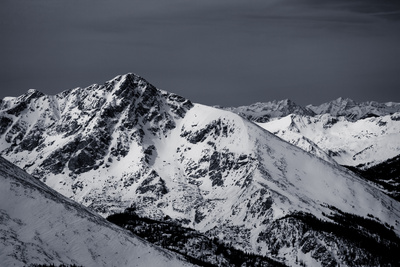 Holy Cross Mountain in Winter Photographic Print by Ben Horton