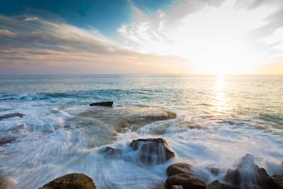 Laguna Beach Shore Break and Waves Photographic Print by Ben Horton