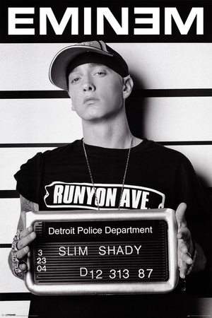 Eminem (Mugshot) Photo