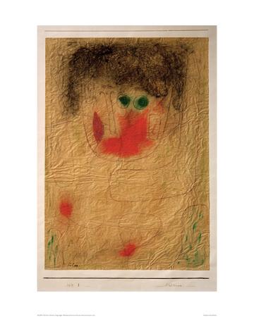 Dulcinea Giclee Print by Paul Klee