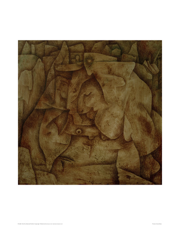 Bewitched Petrified Giclee Print by Paul Klee