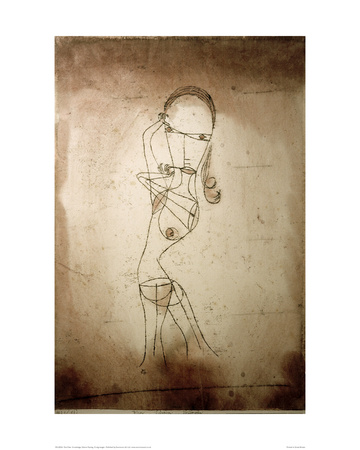 Knowledge, Silence Passing Giclee Print by Paul Klee