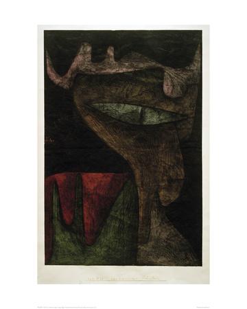 Demonic Lady Giclee Print by Paul Klee
