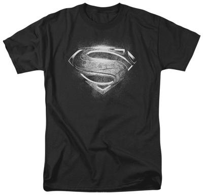 Man of Steel - Contrast Symbol T-Shirt