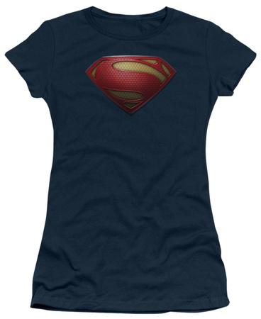 Juniors: Man of Steel - MoS Shield T-Shirt
