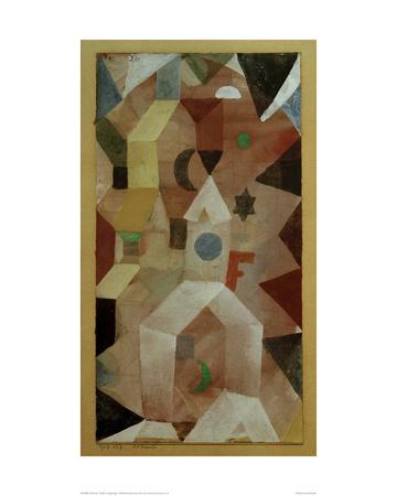 Chapel Giclee Print by Paul Klee