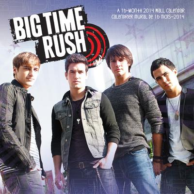 Big Time Rush - 2014 Calendar Calendarios