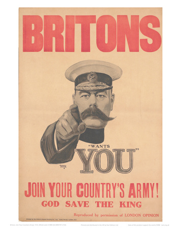 Join Your Country's Army Prints