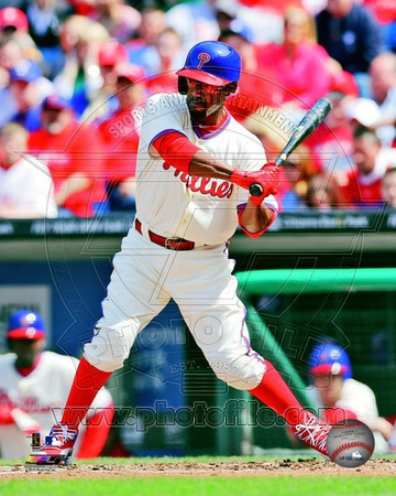 Jimmy Rollins 2013 Action Photo