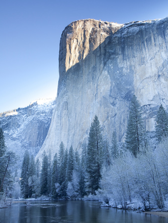 Scenic Image of El Capitan in Yosemite National Park. Photographic Print by Justin Bailie