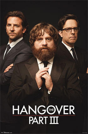 The Hangover III - Trio Movie Poster Photo