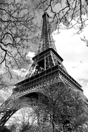 Eiffel Tower - Paris - France - Europe Photographic Print by Philippe Hugonnard