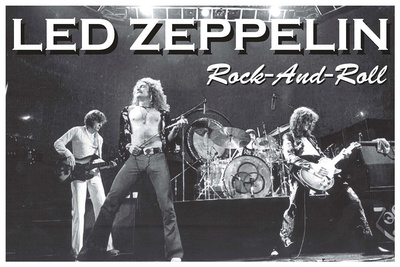 Led Zeppelin Rock and Roll Music Poster Prints