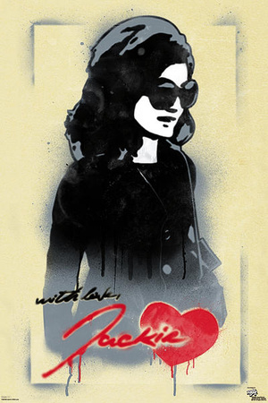 Jackie O With Love Pop Art Poster Photo