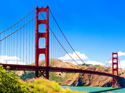 Landscape - Golden Gate Bridge - San Francisco - California - United States Photographic Print by Philippe Hugonnard